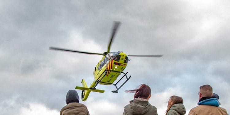 Ongeval met letsel op Streekweg in Hoogkarspel, traumaheli gealarmeerd | 15 april 2020 16:05
