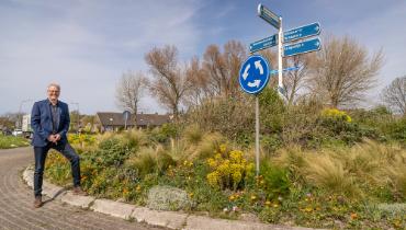 Schagense rotondes bloeien duurzaam – Nieuws