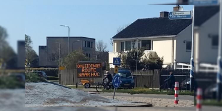 Tekstkar bij afvalbrengstation – Nieuws