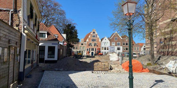 Vernieuwing Kerkplein op de helft: van start in de Kerkstraat