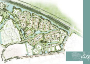 Gezamenlijk plan voor 340 woningen in Kwadijkerpark in Purmerend