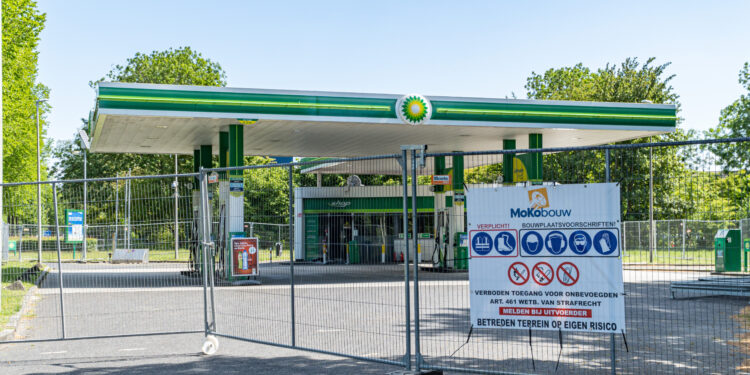 10 juli heropening BP Tankstation na brand in de shop