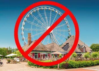 """Geen vergunning voor reuzenrad restaurant De Nadorst """"Een domper"""""""