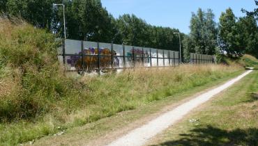 Geluidsscherm langs de N245 eindelijk vervangen – Nieuws