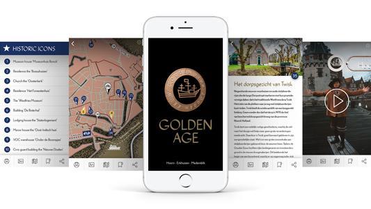 scherm van gouden eeuw app