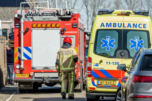 Middelbrand in Hoogwoud op Koningspade | 30 juli 2020 22:57