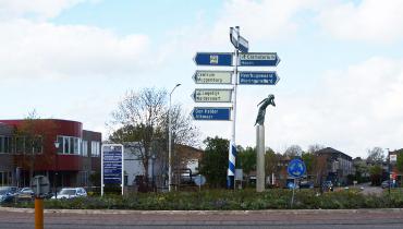 Verkiezing kunst op twee rotonden in Schagen – Nieuws