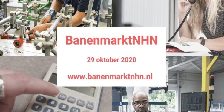 Banenmarkt NHN en Grootste Werkfestival op 29 oktober voor het eerst online