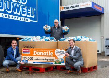 Klanten van DEEN doneren 89.148 producten aan de Voedselbank
