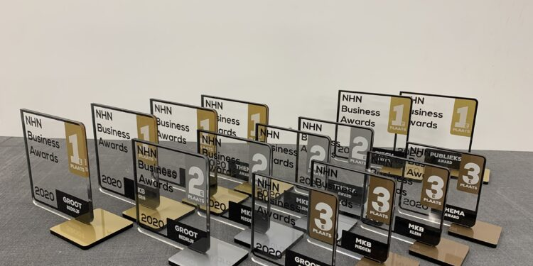 Dit zijn de 12 finalisten van de NHN Business Awards 2021 [overzicht]
