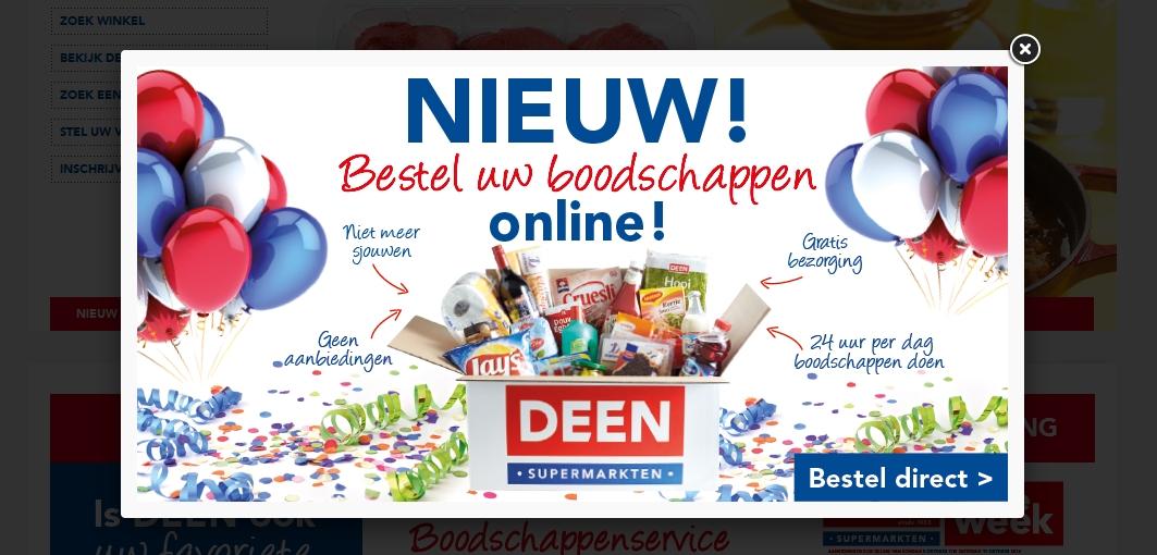 Deen_webshop_website