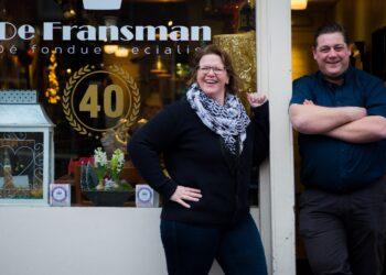 Wethouder spreekt ondernemers; Restaurant De Fransman in Coronatijden