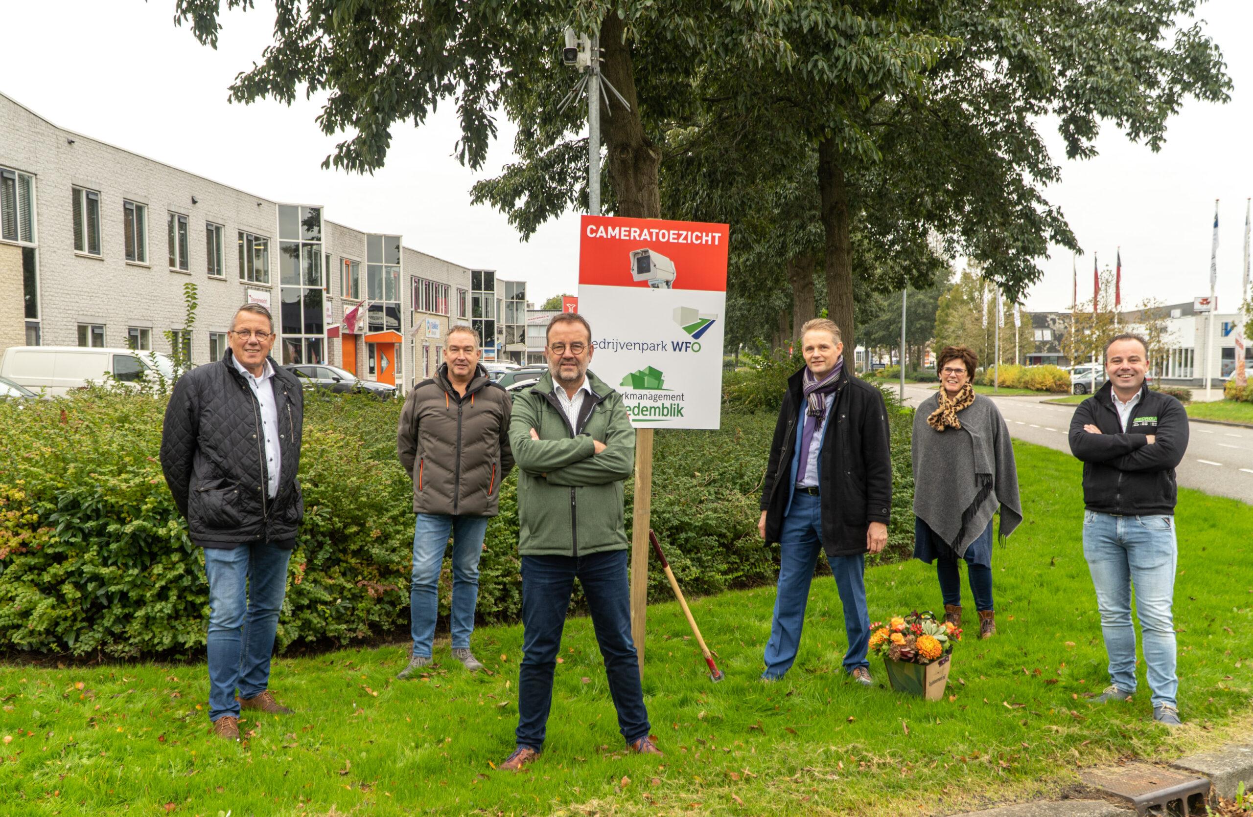 Camera's op WFO maken een veilig bedrijvenpark nog veiliger