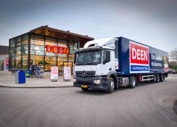 Verdeling Deen Supermarkt winkels over Vomar, Dekamarkt en Albert Heijn