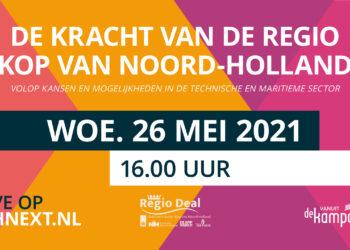De kracht van de regio Kop van Noord-Holland